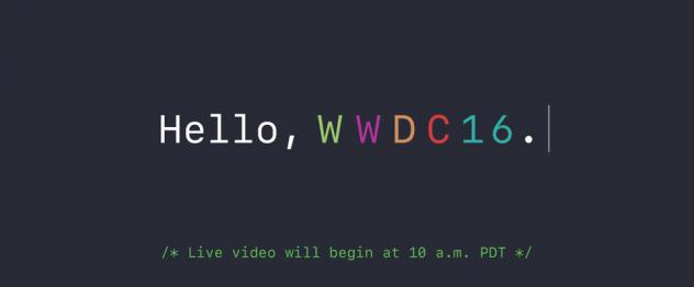 WWDC  2016 Keynote